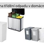 Jak na třídění odpadů v domácnosti