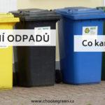 Třídění odpadů: co kam patří?