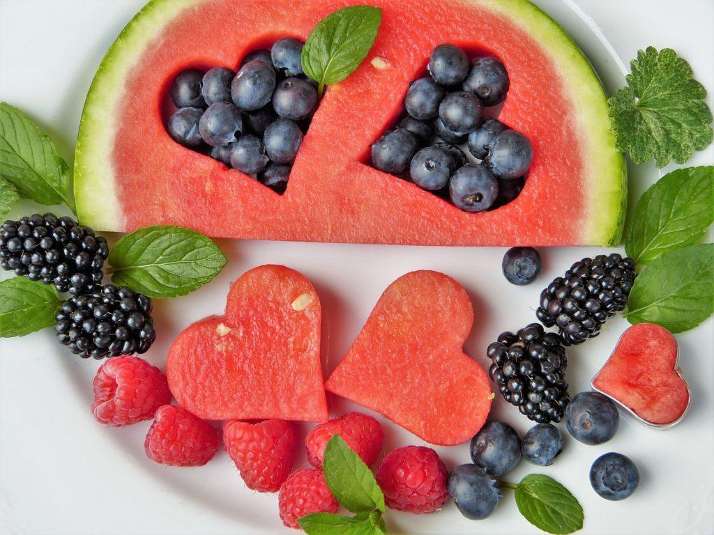 ovoce jako náhražka cukru