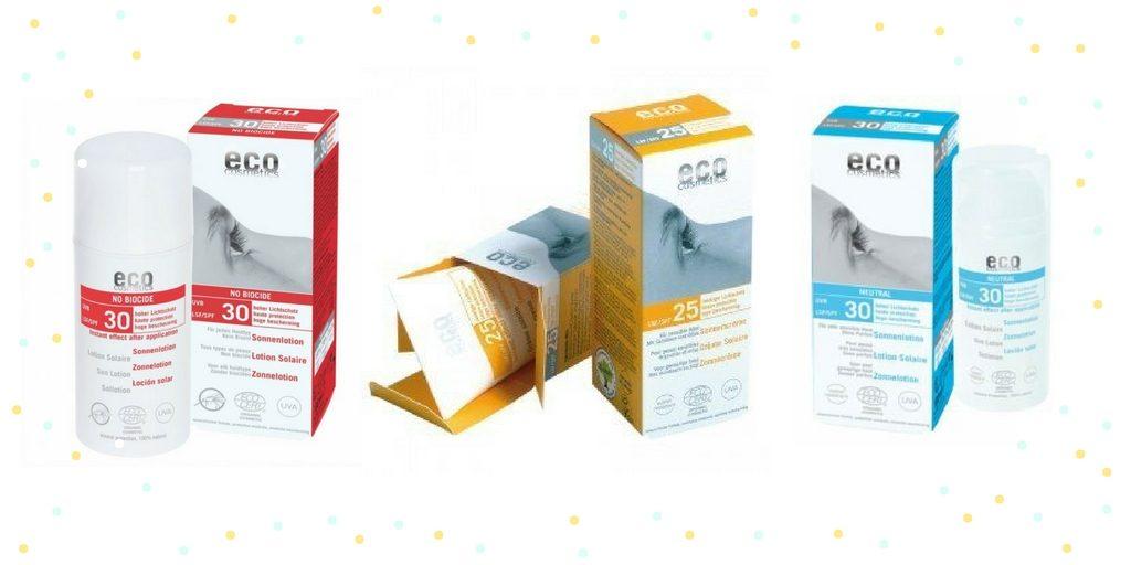 Eco cosmetics opalovací krémy