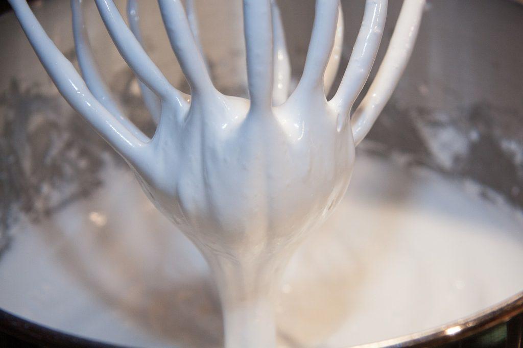 Kokosová šlehačka