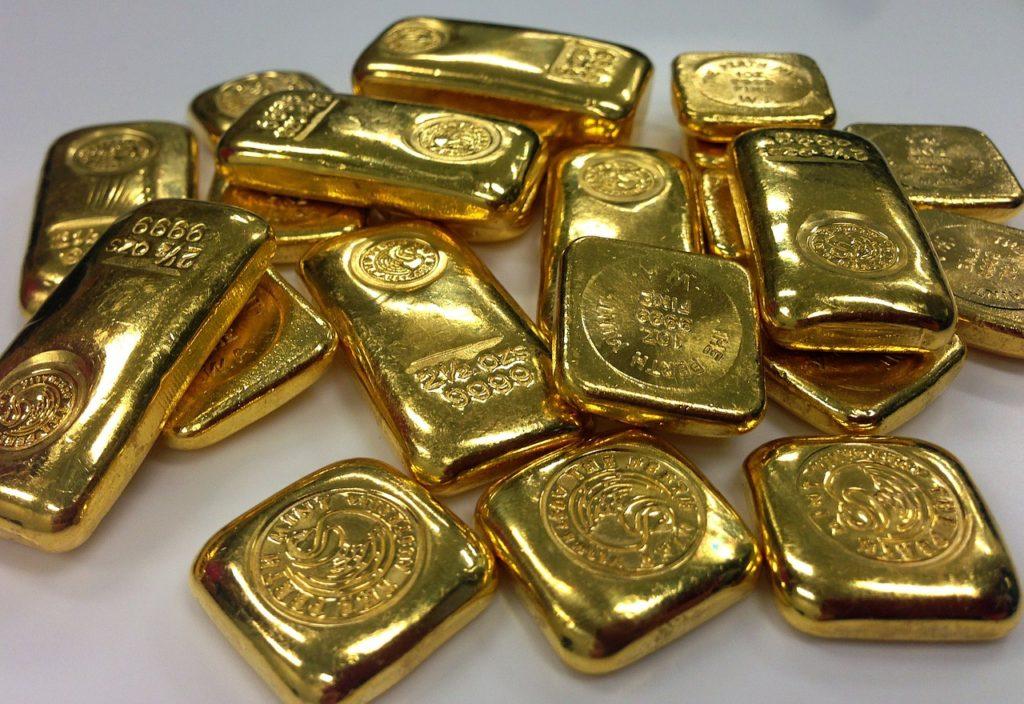 neopracované zlato