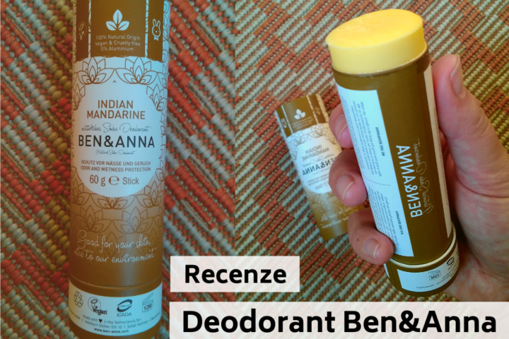 Recenze deodorant Ben a Anna