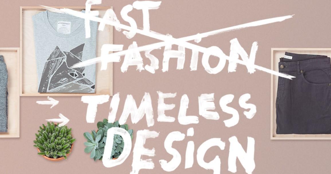 dvě značky udržitelné módy
