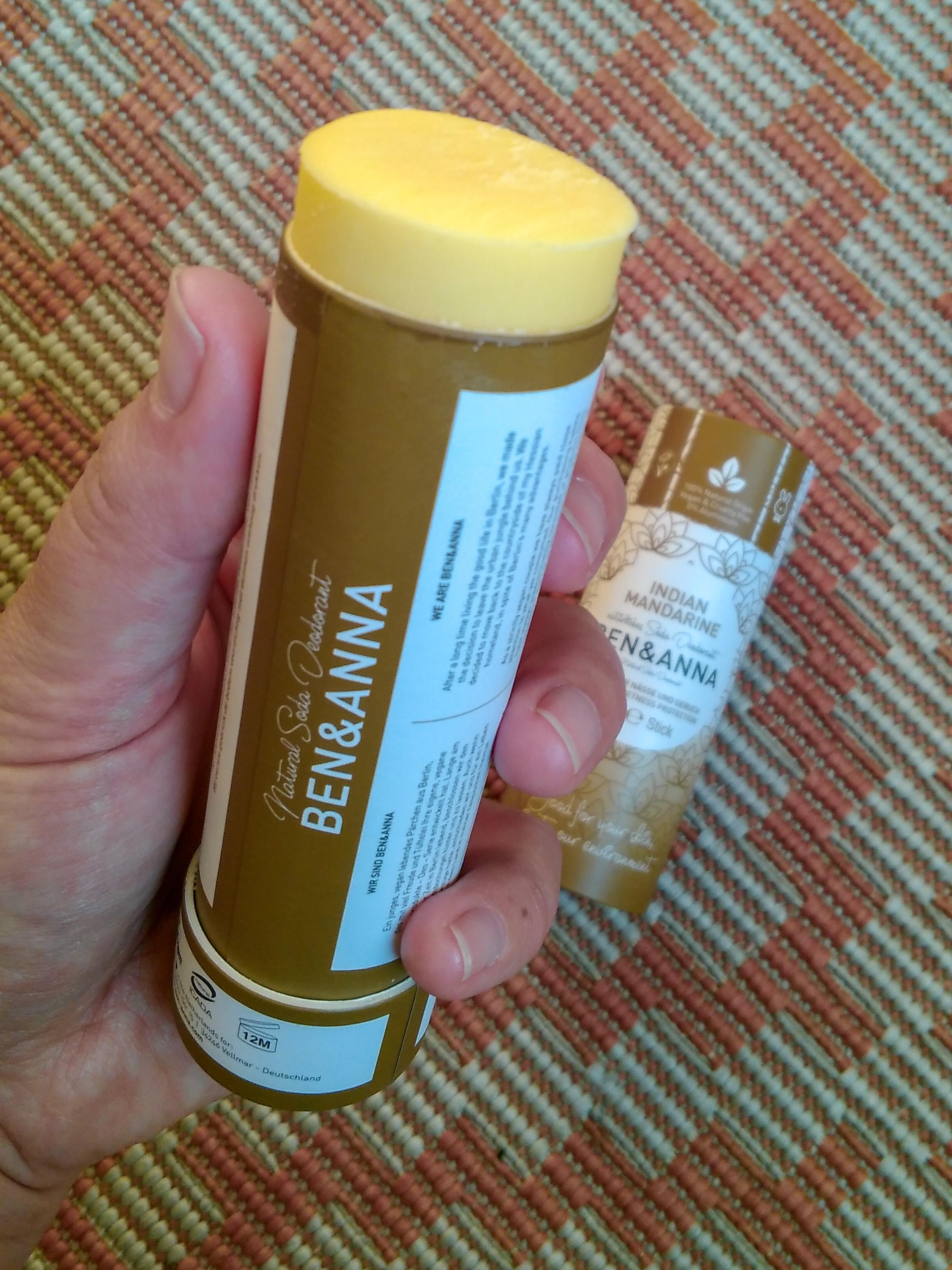 ben a anna přírodní deodorant