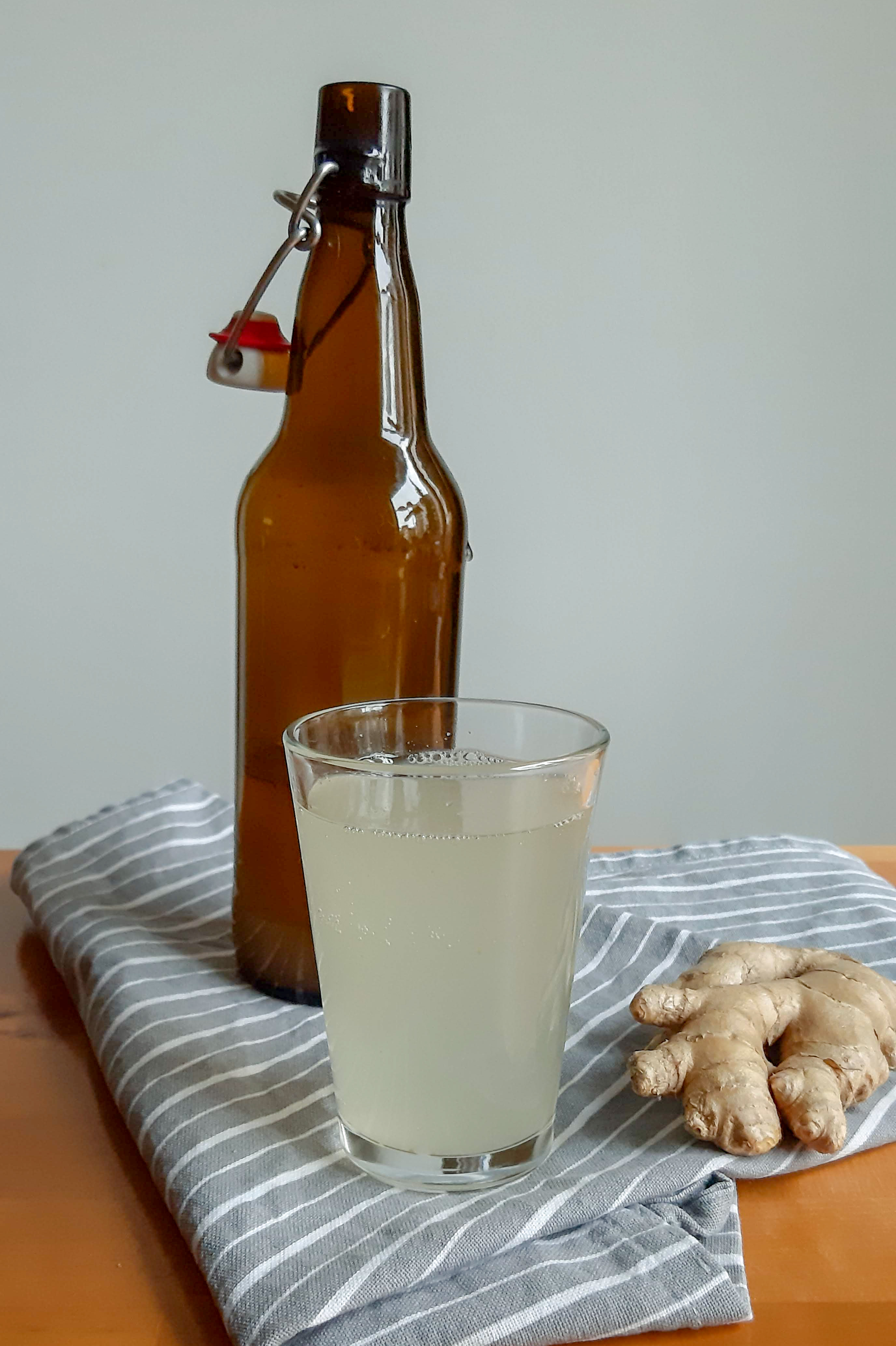 fermentovaná zázvorová limonáda - recept