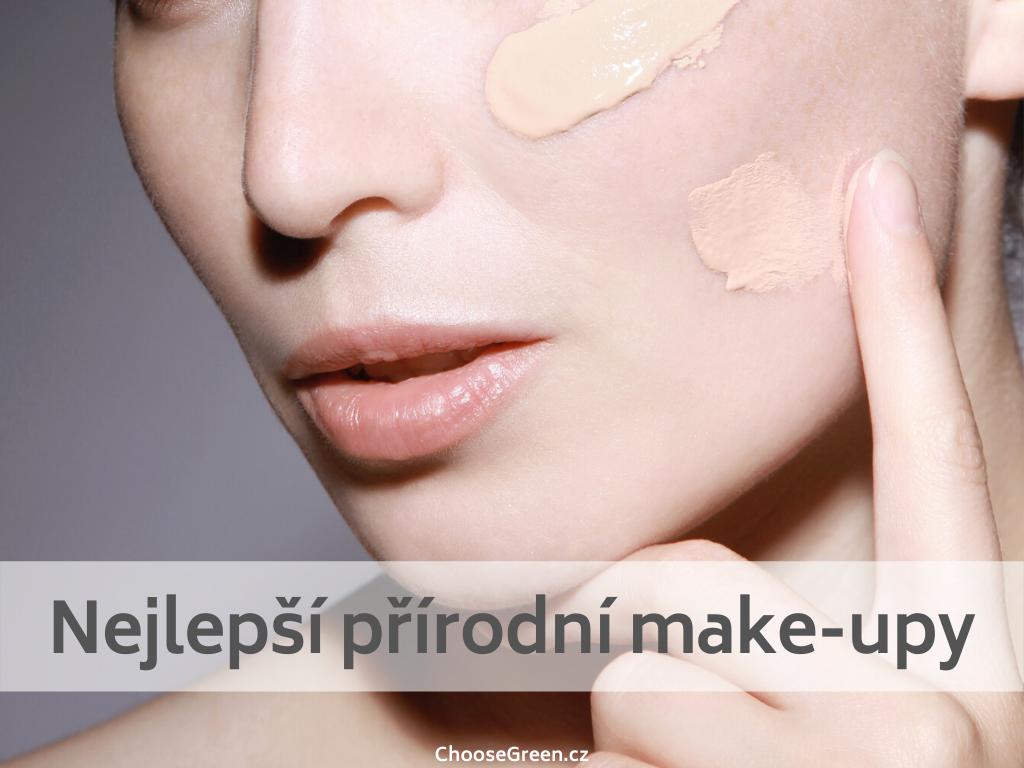 Nejlepší přírodní make-upy