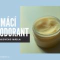 Jednoduchý domácí deodorant