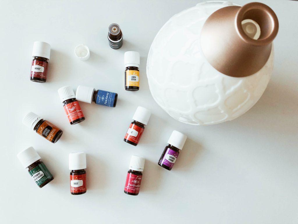 éterické oleje na ochlazení těla
