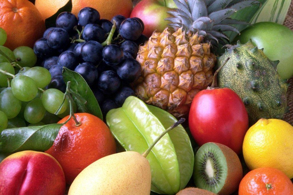 ovoce a ovocné kyseliny