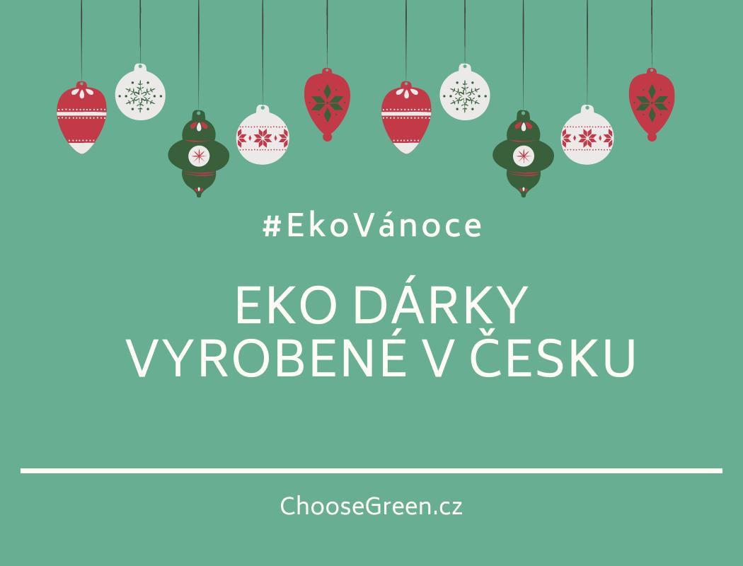 Eko dárky vyrobené v Česku