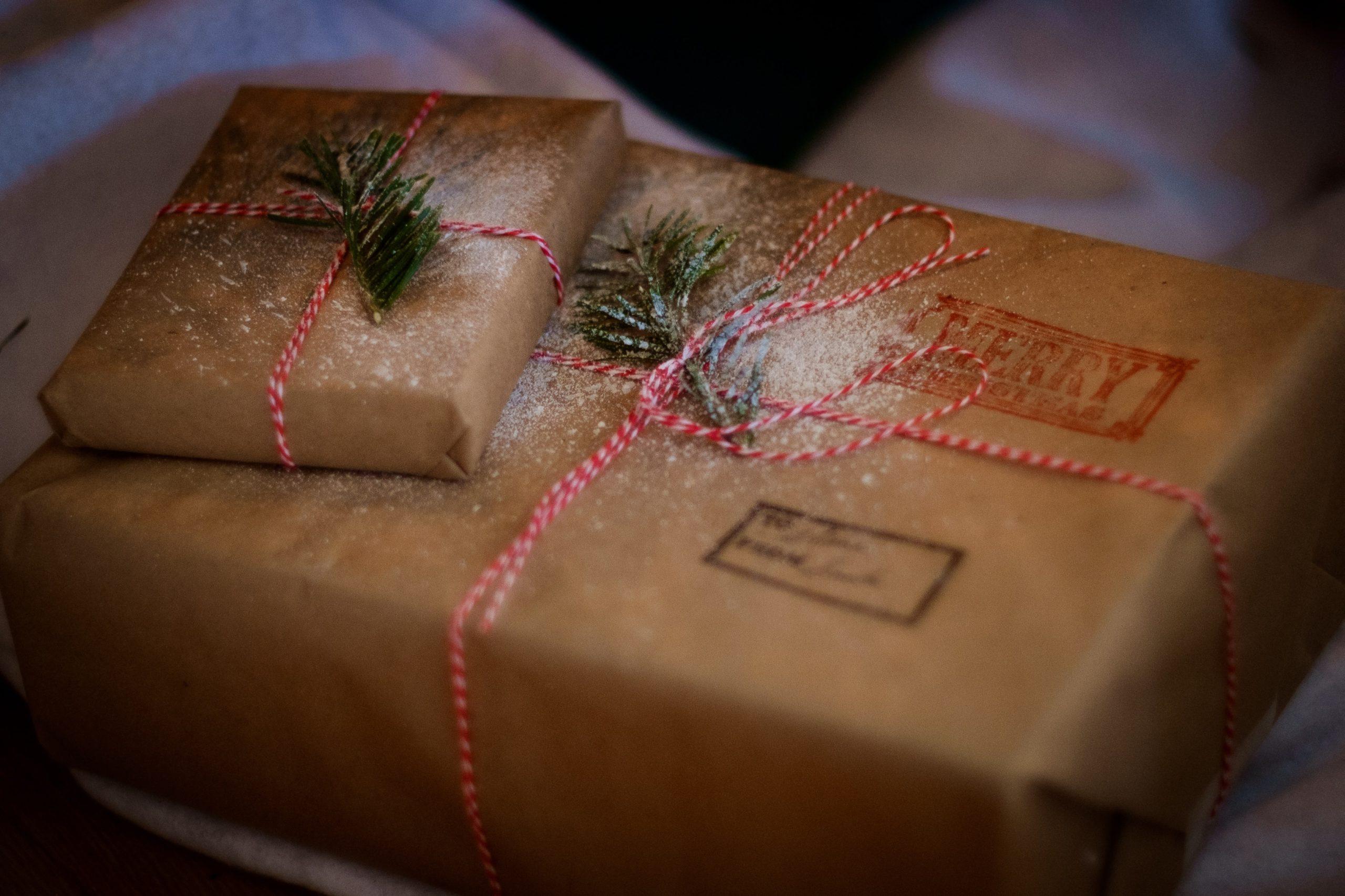 jak ekologicky balit dárky